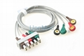 M1635A M1625A M1623A Philips ECG 5 lead wires set