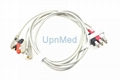 M1603A / M1611A Philips 3 lead ECG leads wires