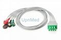 115-004867-00 Mindray MS-6016 Telemetry ECG 3lead /5 lead set