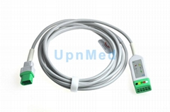 Datascope 0012-00-1745-01 Compatible ECG Trunk Cable