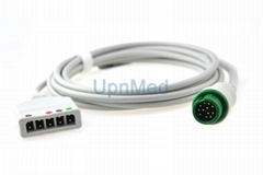 Mindray Beneview T5 T8 5 lead ECG Trunk Cable