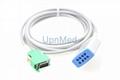 OPV-1500 Nihon Kohden ECG Trunk cable,