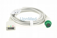 Schiller 3 lead ECG Trunk Cable