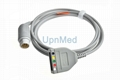 Siemens 5 lead ECG Trunk cable