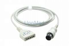 Mindray PM8000 5 Lead ECG trunk cable, Din type