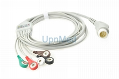 M1986A Philips ECG cable with lead wires 12 pin (Hot Product - 1*)