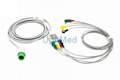 700-0008-06 Spacelabs ECG cable with leadwires