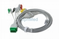 2021141-001 GE Dash ecg cable with leadwires