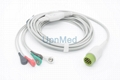 Medtronic Physio-Control ECG Cable with lead wires