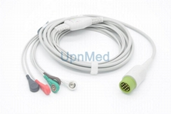Medtronic Physio-Control  ECG  Cable with leadwires