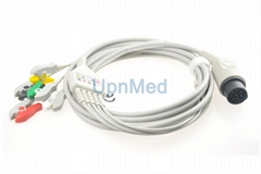 Nihon Kohden OEC-6102A ECG cable with lead wires