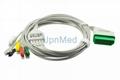 Nihon Kohden ECG Cable with leadwires