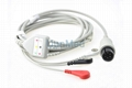 Universal One piece 5-lead ECG Cable