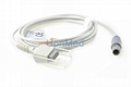 Edan spo2 extension cable, 6pin to DB9F