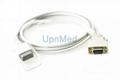 1814 Masimo Spo2 Adapter Cable LNCS