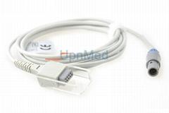 GMI Newtech Solaris spo2 adapter cable