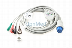Datex Ohmeda Cardiocap 5 ECG Cable, 10pins