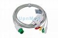 MEK One piece ECG Cable, 6 pins