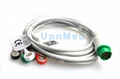 Schiller ECG Cable with lead wires