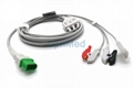 Datascope Passport V12 ECG Cable with leadwires