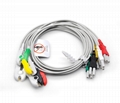 700-0007-00 Spacelabs ECG 3 lead 5 lead wire set