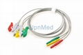 ECG Holter 3 lead wires set