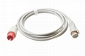 Mindray Spacelabs IBP Adapter Cable to BD transducer
