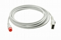 Biolight IBP adapter cable to Utah Transducer