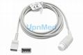 Datascope IBP Cable to Utah disposable transducer, 6 pins