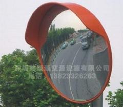 交通设施广角镜
