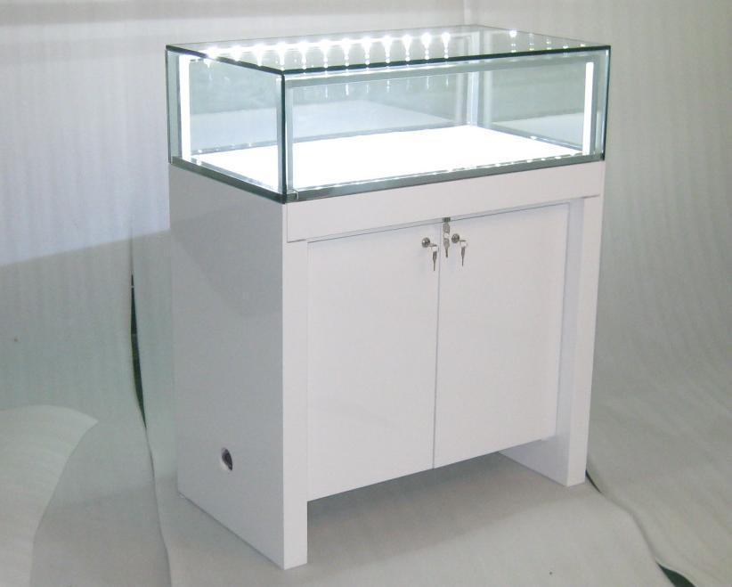 Manufacture Jewellery Display Showcase With Led Lighting
