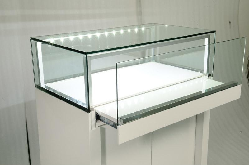 Manufacture Jewellery Display Showcase With Led Lighting For