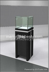 High end jewelry standing case suppliers