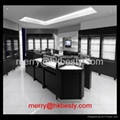 High end jewelry kiosk store and jewelry shop booths