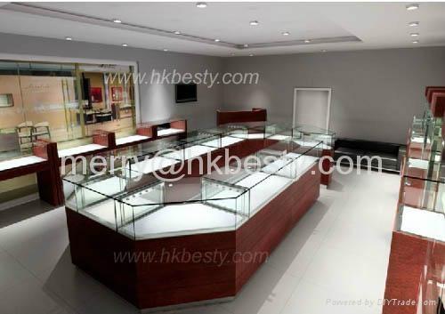 高檔珠寶展示櫃 2