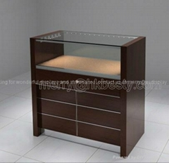 Glass Display Jewelry Jewelers Case Retail Commercial Counter Store Fixture