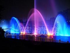 桐城湖面噴泉
