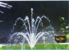 喷泉可调花柱喷头