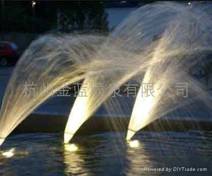 噴泉扇形噴頭 1