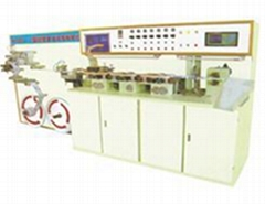 Aluminium-plastic laminated tube making machine