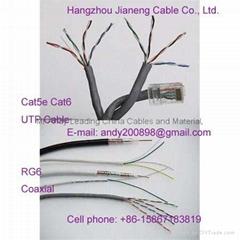 UTP Cable Lan Cat5e Cat6 Cat3
