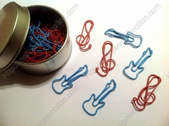 Fun Music shaped paper clips