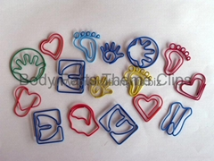Body Parts Shaped Paper Clips