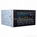 Android Car DVD GPS 2 Din 6.2 Inch Full