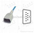 Complete Spo2 sensor kits for Nihon Kohden,DB9,0.9M 2