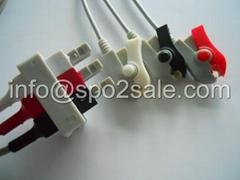 HP M1603A 3-lead grabber leadwires