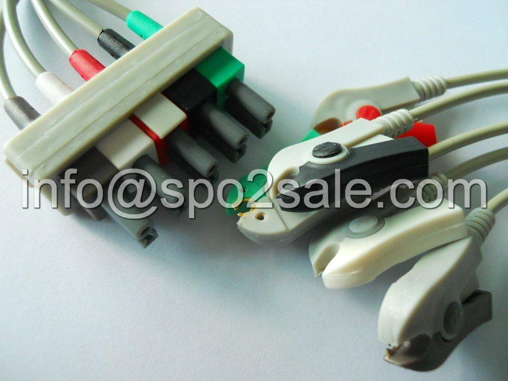 HP M1623A  5-lead grabber leadwires 1