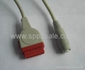 GE Marquette-4 pin 22339301 IBP Cable