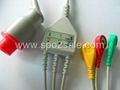 Bionet one piece Cable with 3-lead IEC