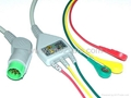 Compatible KONTRON patient cable with leadwires 1